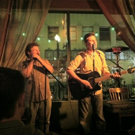 Photo taken at The Gypsy Den Grand Central Café by Jessica W. on 3/7/2012