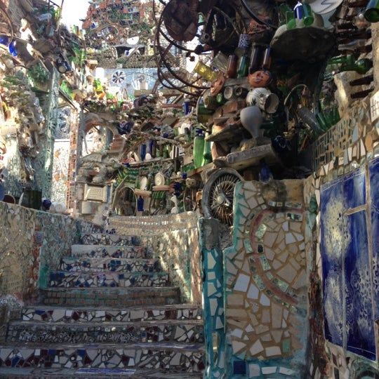 Photo taken at Philadelphia's Magic Gardens by George C. on 4/29/2012