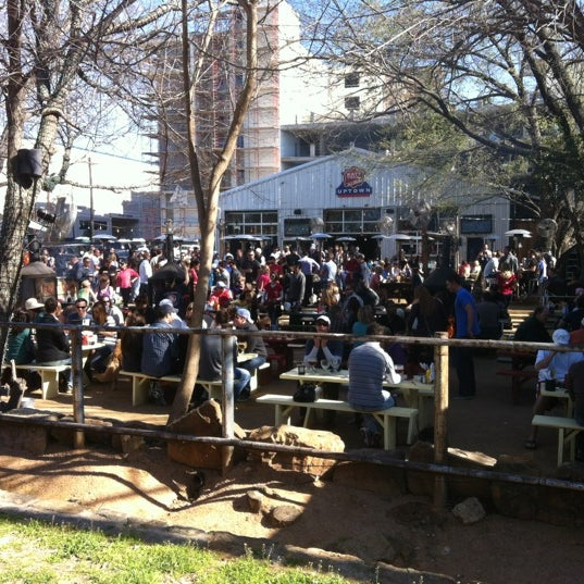 Photo taken at Katy Trail Ice House by Evelina on 2/26/2012