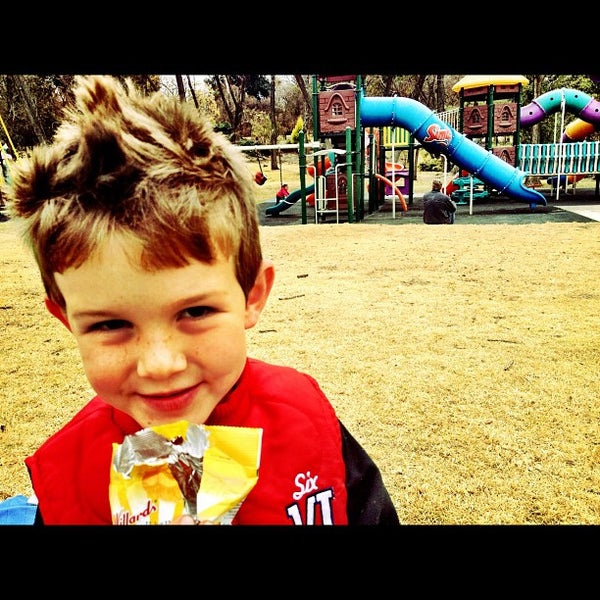 Photo taken at Simba Playground @ Delta Park by Brennan B. on 6/17/2012