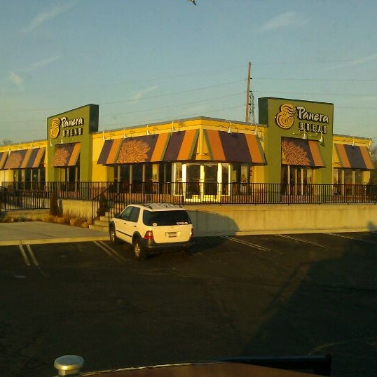Photo taken at Panera Bread by Larry G. on 2/22/2012
