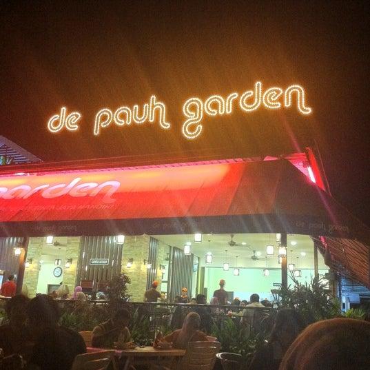 Photo taken at De Pauh Garden Restaurant & Cafe by Muhammad A. on 9/6/2012