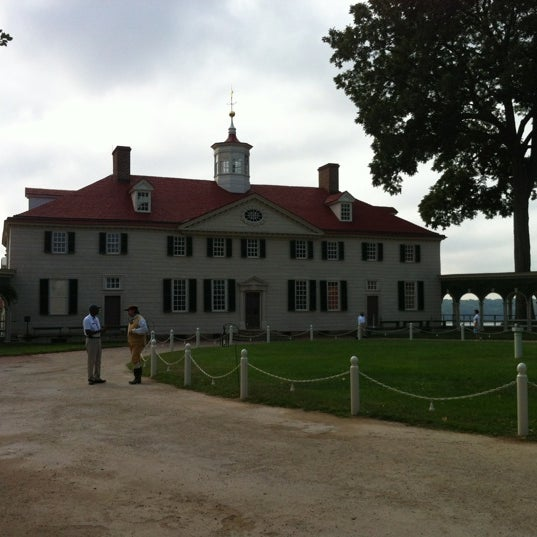 Photo taken at George Washington's Mount Vernon by Adley on 8/21/2012