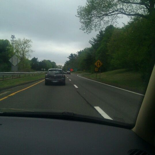 Photo taken at Route 34 - New Haven by Bianca B. on 5/5/2012
