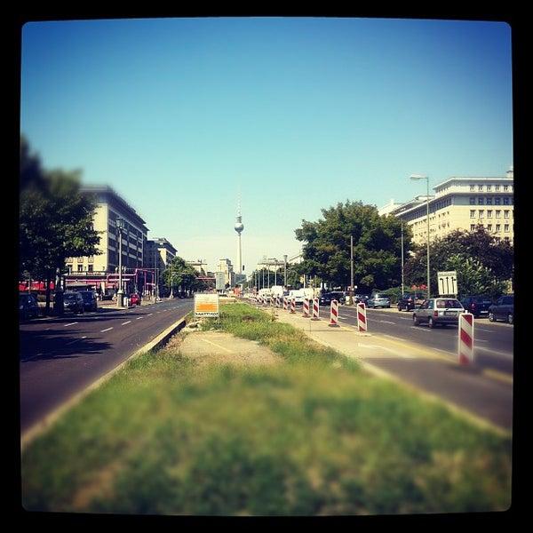 Photo taken at U Weberwiese by Christina M. on 6/18/2012