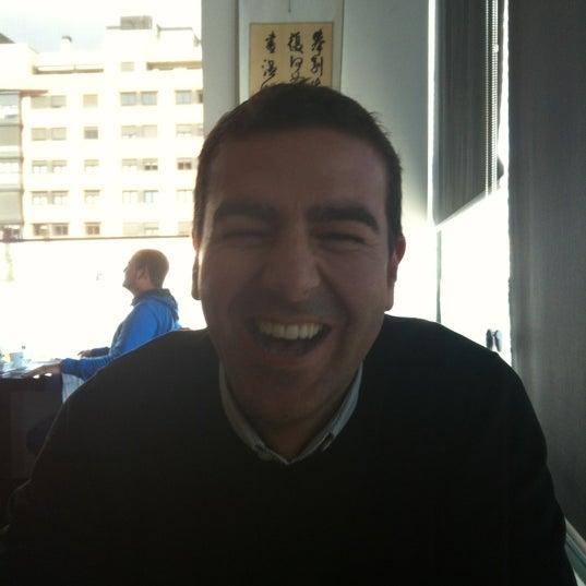 Photo taken at Cafe Tibet by Edu C. on 2/15/2012