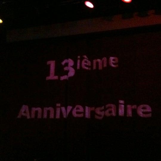 Photo prise au Vortex Solution par Luc A. le6/1/2012