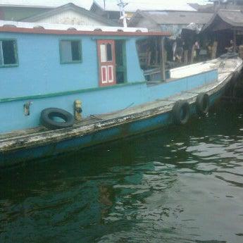 Photo taken at Pelabuhan speedboat kampung baru by Iis M. on 3/17/2012