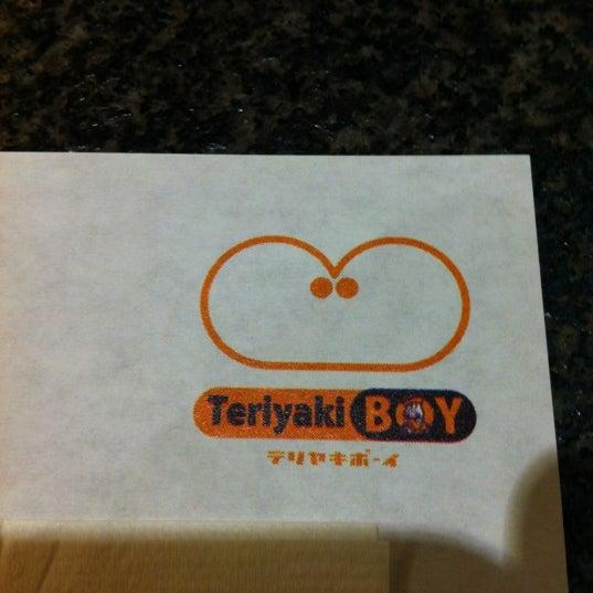 Photo taken at Teriyaki Boy by norman m. on 3/13/2012