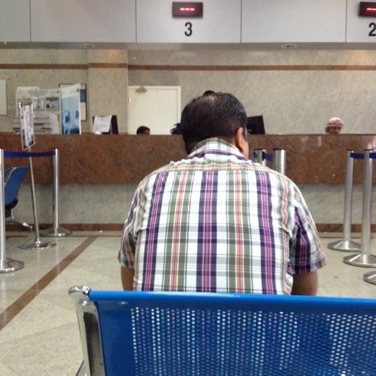 Photo taken at Emirates Post Office مكتب بريد الإمارات by Daniel P. on 3/7/2012
