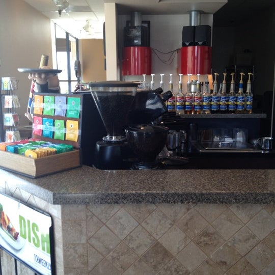 Photo taken at Javatinis Espresso Bar by Becca E. on 8/22/2012