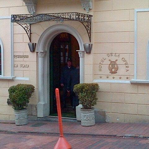 Foto tomada en Hotel de la Opera por Deivi V. el 8/29/2012