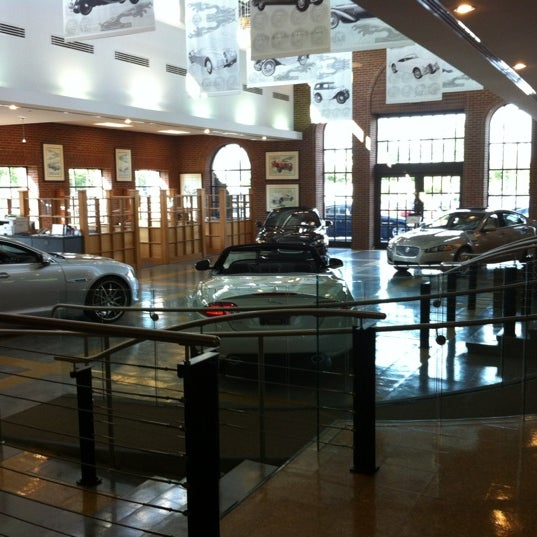 Photo Taken At Hennessy Jaguar Gwinnett By Joshua C. On 5/15/2012