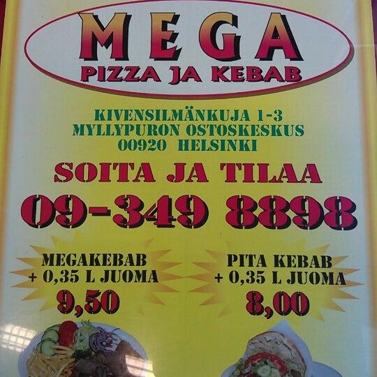 Foto diambil di Mega Pizza & Kebab oleh Herkko V. pada 8/10/2012