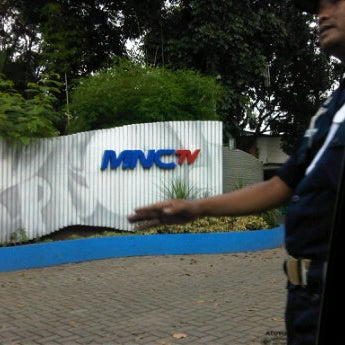 Photo taken at MNCTV by Lucky N. on 4/26/2012