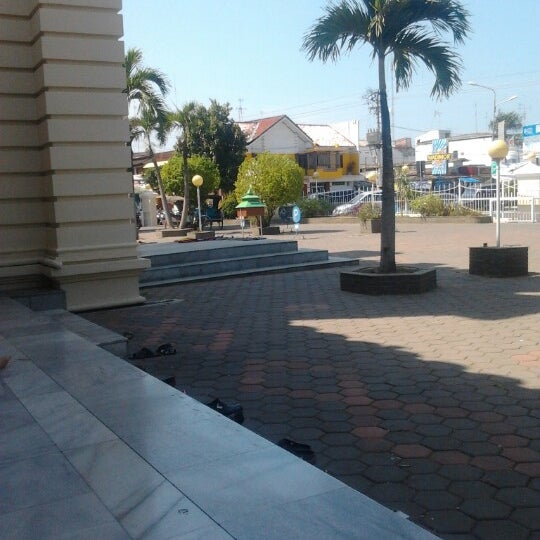 Photo taken at Masjid Jami' Kauman Pekalongan by Rifq L. on 7/24/2012
