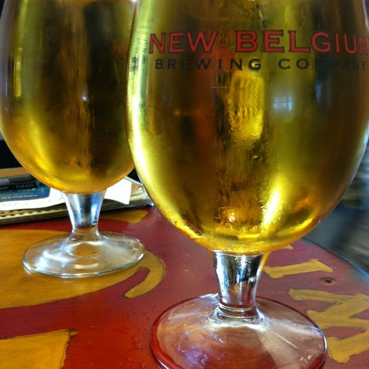 Photo taken at New Belgium Brewing Hub by 😜 Heather S. on 8/18/2012