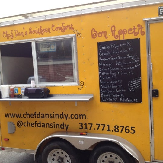 Chef K Food Truck Menu