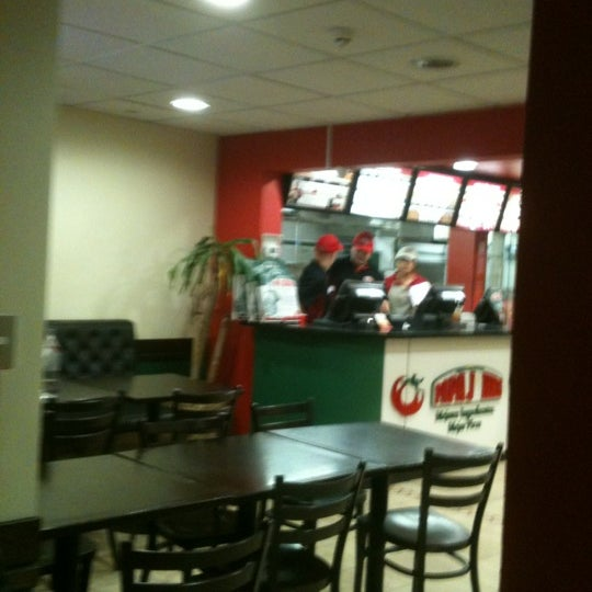 Photo taken at Papa John's by Ramiro S. on 5/16/2012
