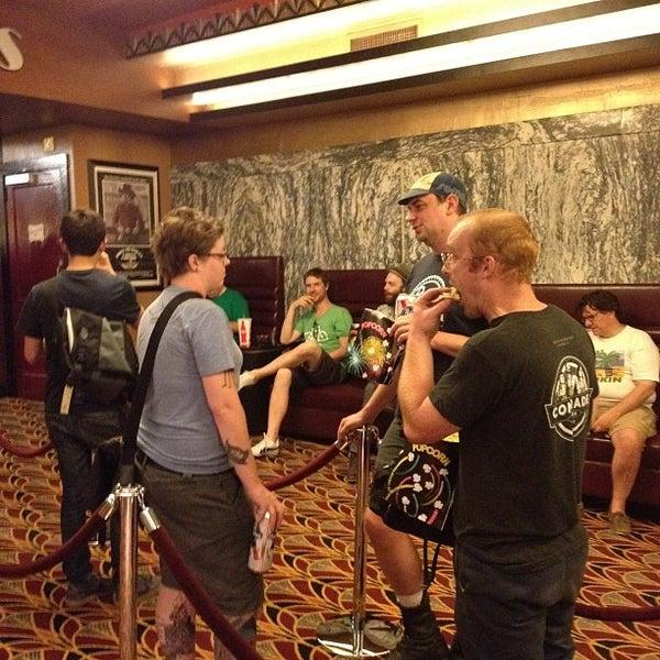 Photo taken at Logan Theatre by Vishnu B. on 7/29/2012