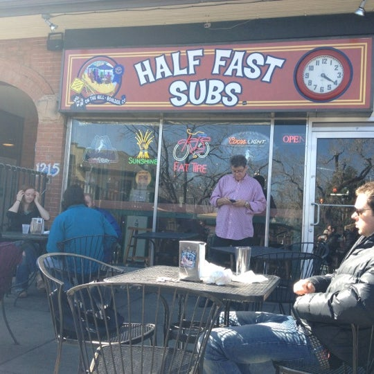 Photo taken at Half Fast Subs by Eric S. on 3/8/2012