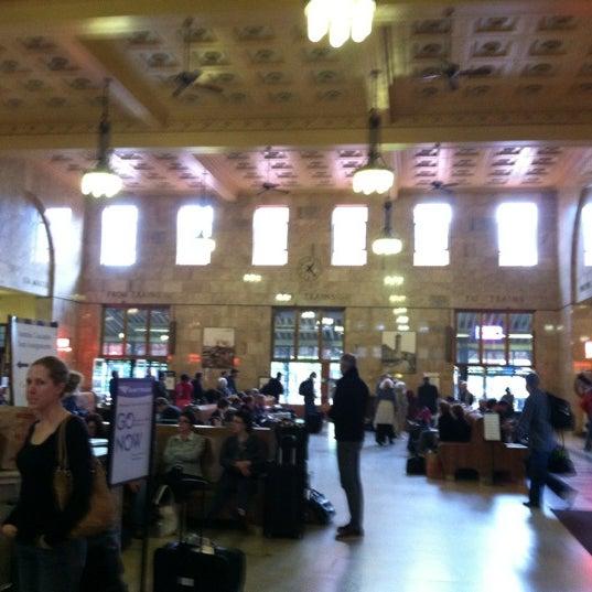 Photo taken at Union Station Amtrak (PDX) by Matt S. on 5/21/2012