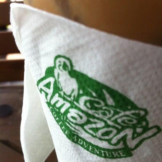 Photo taken at Café Amazon by Amornnat M. on 2/26/2012