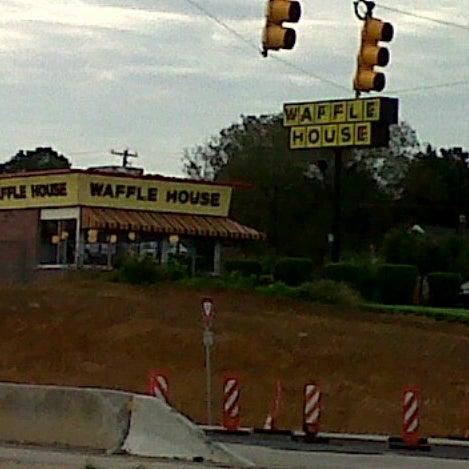 Photo taken at Waffle House by Scott B. on 8/20/2012