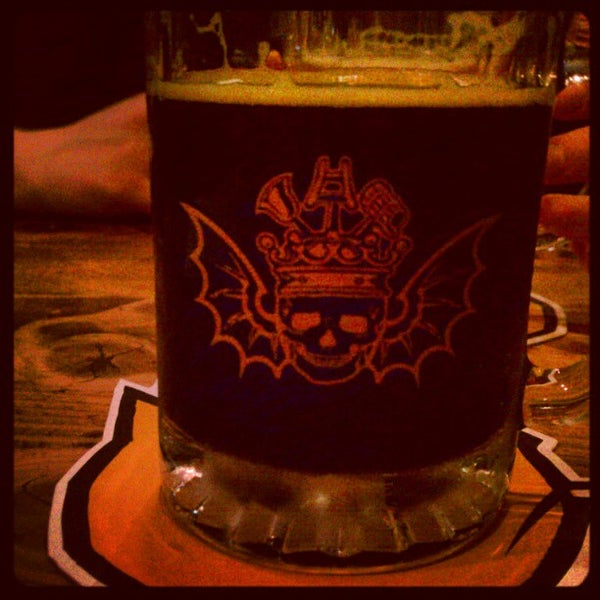 Photo taken at 3 Floyds Brewery & Pub by Jim W. on 4/15/2012
