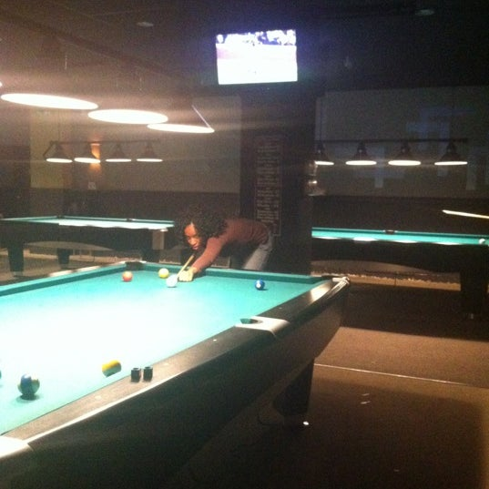 Photo taken at Pressure Billiards & Cafe by Kamal C. on 6/26/2012