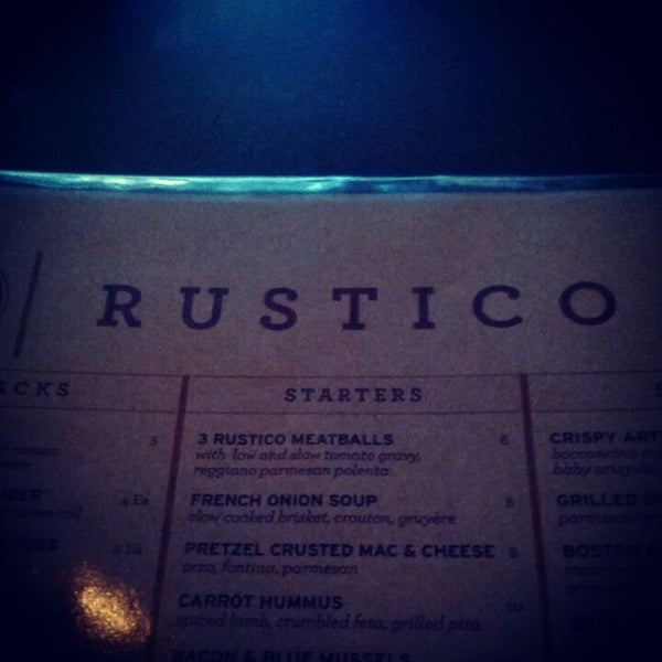 Photo taken at Rustico by Aaron on 4/20/2012