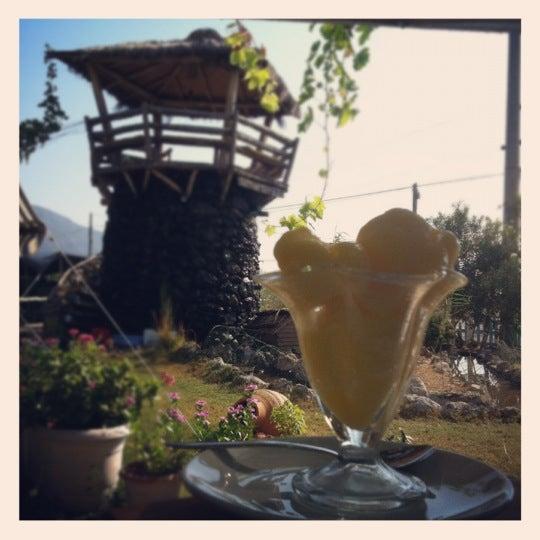 Portakal dondurmamiz :) denemelisiniz :)