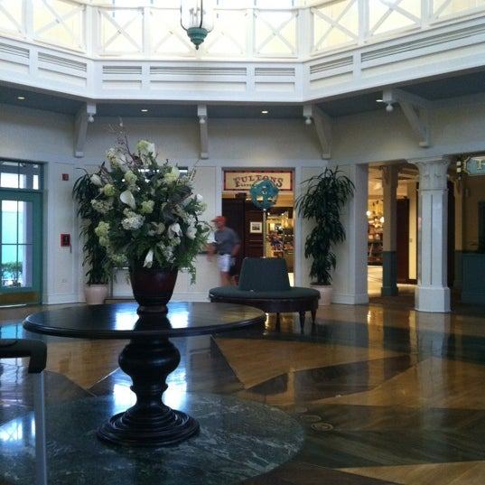 Photo taken at Disney's Port Orleans Riverside Resort by Rob Z. on 2/22/2012