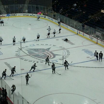 Photo taken at Nationwide Arena by Scott S. on 2/12/2012