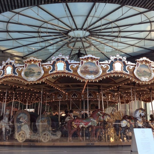 Photo taken at Jane's Carousel by Nancy N. on 8/12/2012