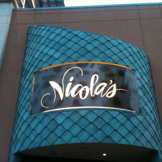 Photo taken at Nicola's Ristorante by Robert P. on 2/13/2012