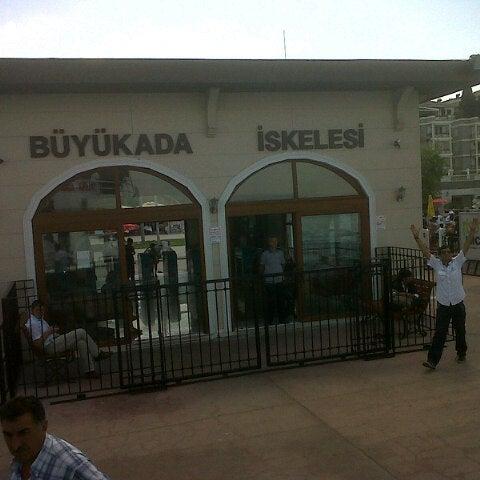 Photo taken at Büyükada Mavi Marmara Motor İskelesi by Sergen on 8/17/2012