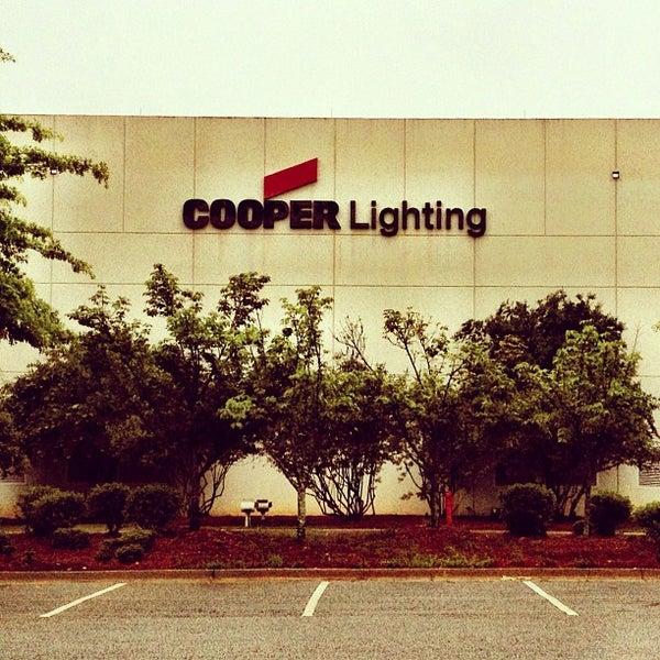 & Eatonu0027s Cooper Lighting Business - Peachtree City GA