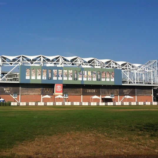 Photo taken at Talen Energy Stadium by Jennie O. on 7/17/2012
