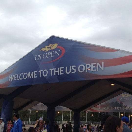 Photo taken at US Open Tennis Championships by Alison O. on 9/3/2012