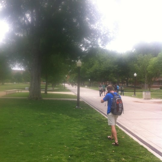 Photo taken at South Oval by Brian A. on 5/8/2012