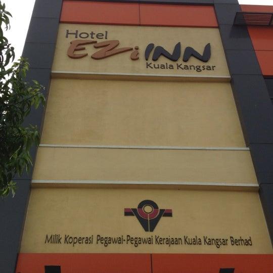Photo Taken At Ezi Inn Kuala Kangsar By Jojoe F On 5 12