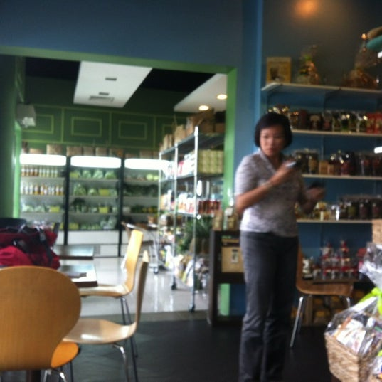 Photo taken at ECHOcafé by Janette T. on 6/15/2012