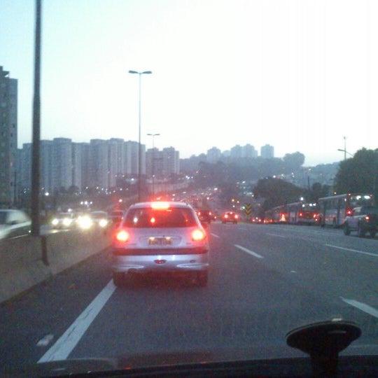 Photo taken at Rodovia Raposo Tavares by Rogerio H. on 8/8/2012