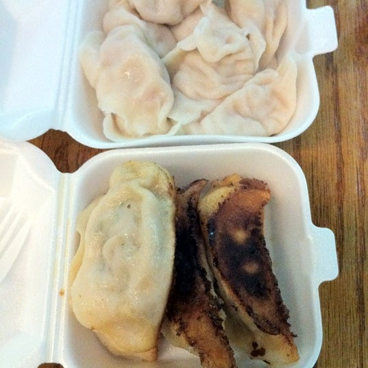 Photo taken at Vanessa's Dumpling House by Frank S. on 8/15/2012