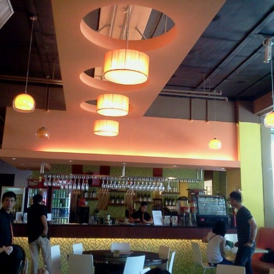Photo taken at Alcove. Asian Restaurant. Bar by Francis P. on 2/16/2012