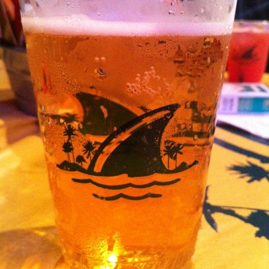 Photo taken at Landshark Bar & Grill by Amber on 7/9/2012