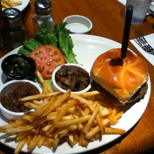 Photo taken at Ray's Hell Burger by Susan H. on 3/5/2012