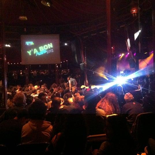 Снимок сделан в Cabaret Sauvage пользователем Barbara S. 3/19/2012