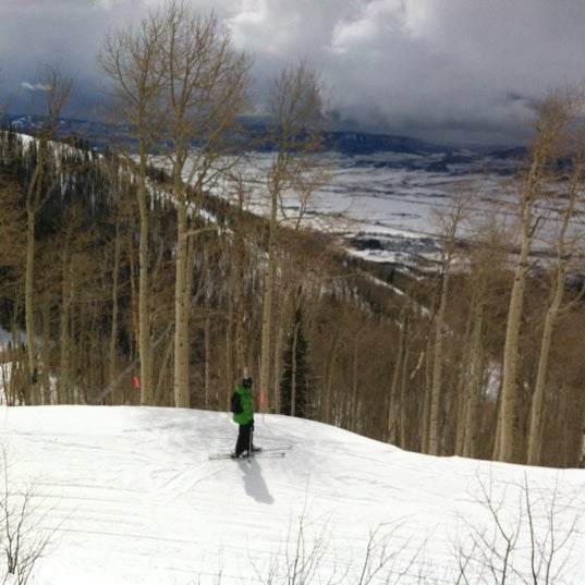 Photo taken at Steamboat Resort by Tim B. on 3/19/2012